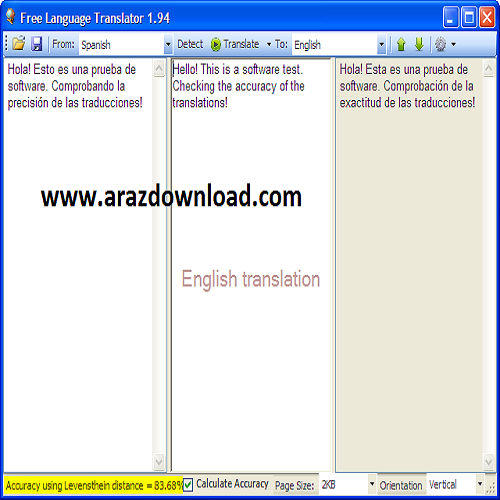 دانلود Free Language Translator 3.4